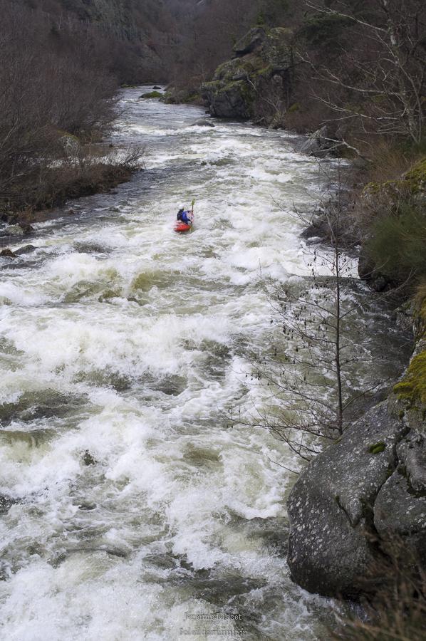 gorges de l'allier en kayak