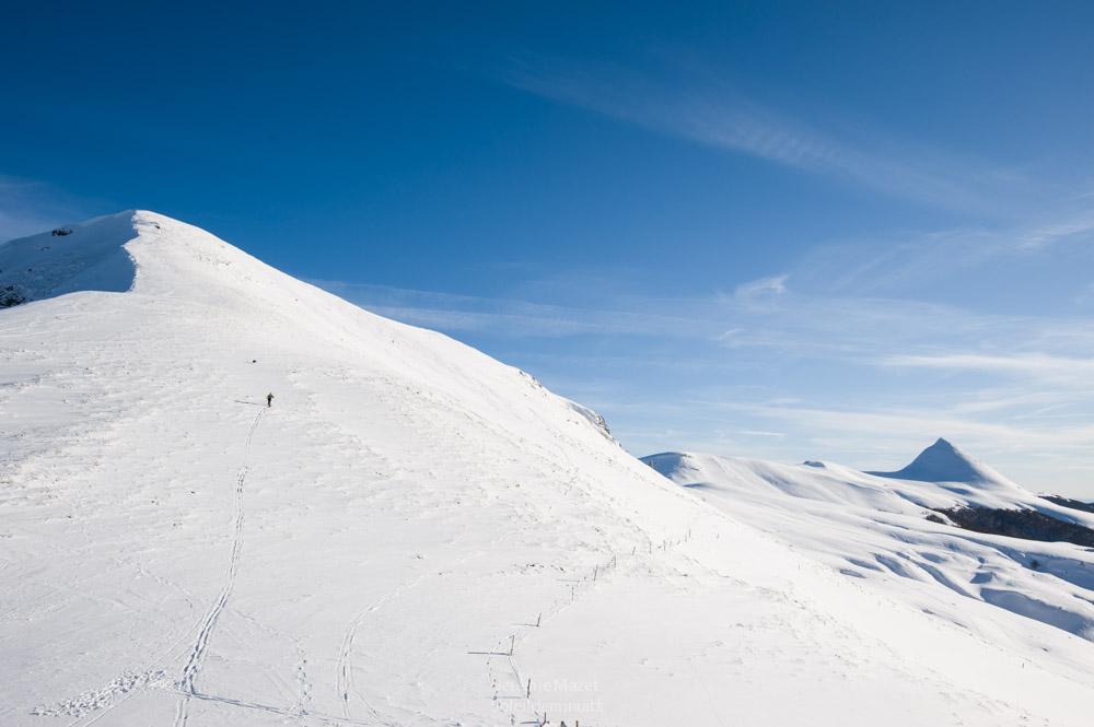 ski de rando au puy Mary